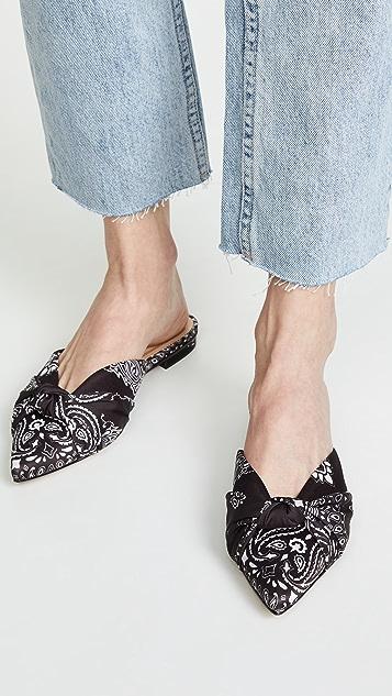 Schutz Andreza 尖头穆勒鞋