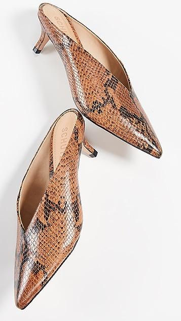 Schutz Alva 尖头穆勒鞋