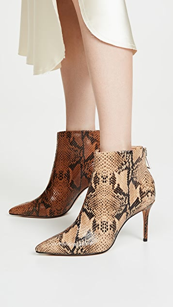 Avory Point Toe Booties by Schutz