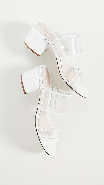 Schutz Ellarose Sandals
