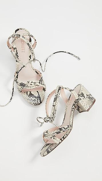 Schutz Veronica Strappy Sandals