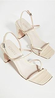Schutz Amaia High Block Sandals