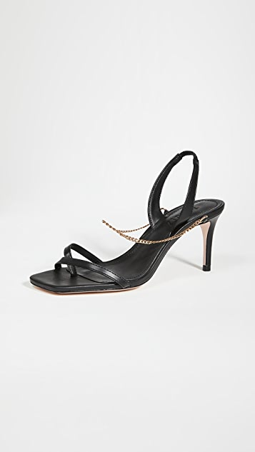 Schutz 70mm Yareli Mid Stiletto Sandals
