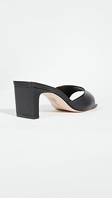 Schutz Queliana Mid Block Sandals