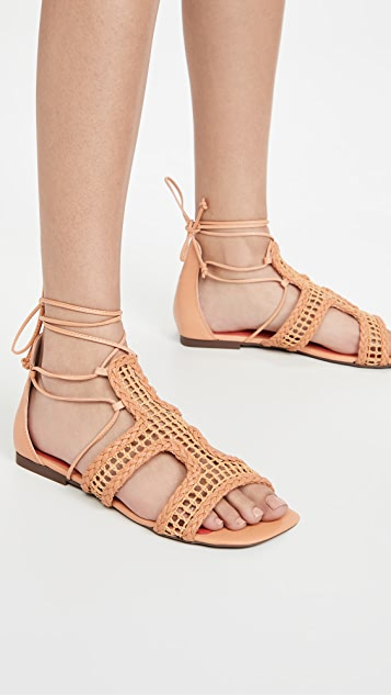 Schutz Lolite Sandals