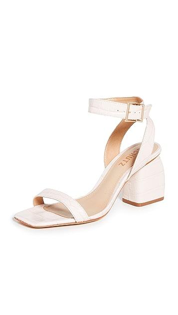 Schutz Mandy Block Heel Sandals