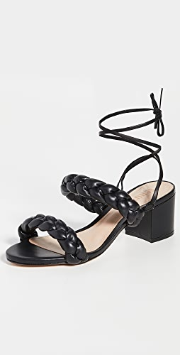 Schutz - Zarda Puffy 褶皱凉鞋