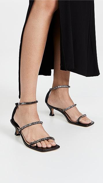 Schutz Nellina Low Sandals