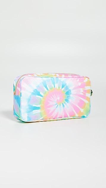 Stoney Clover Lane Небольшая сумочка с пастельным рисунком в технике узелкового батика