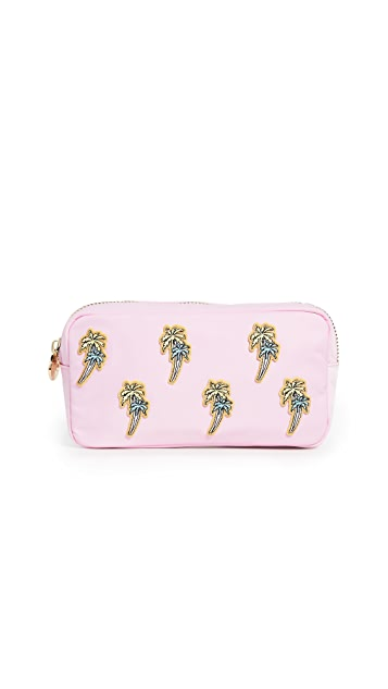 Stoney Clover Lane Small Pouch with Palm Trees