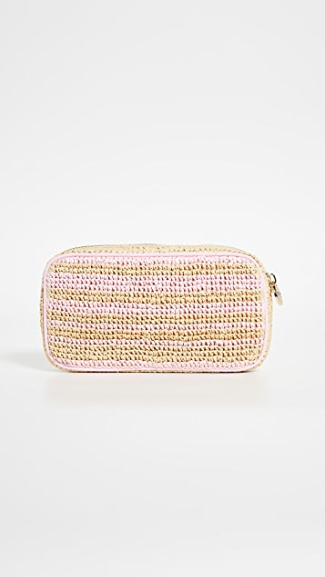 Stoney Clover Lane Airplane Small Pouch