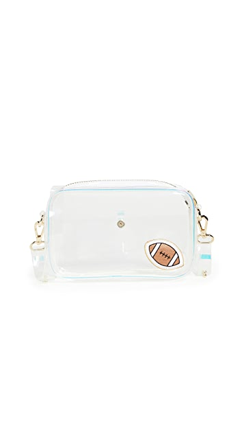 Stoney Clover Lane Clear Football Crossbody