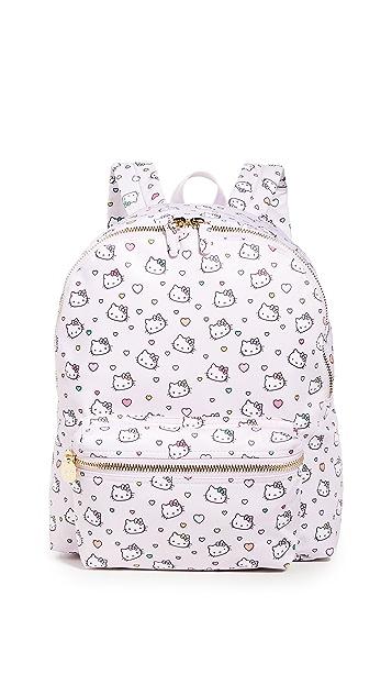 Stoney Clover Lane Printed Heart Backpack