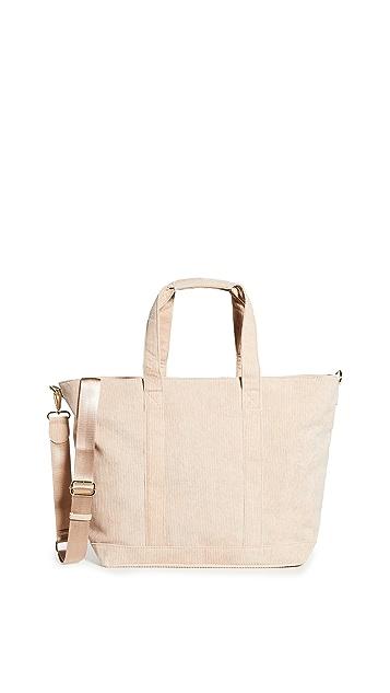 Stoney Clover Lane Corduroy Tote Bag