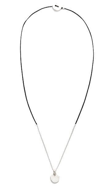 Scosha Circle Braid Necklace