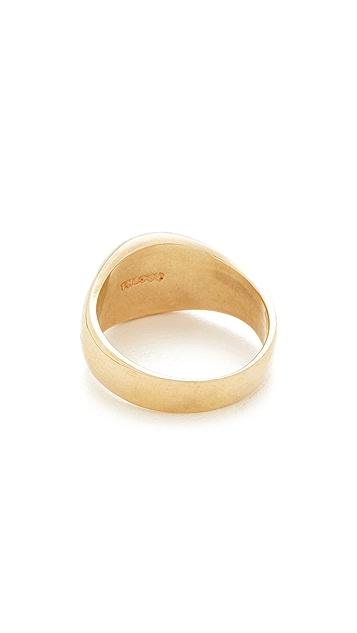 Scosha Pinky Signet Ring