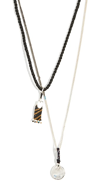 Scosha Merit Tag Necklace