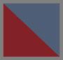 Denim/Red