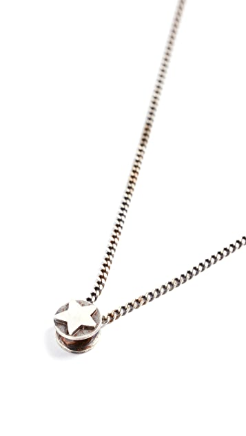 Scosha Star Button Necklace