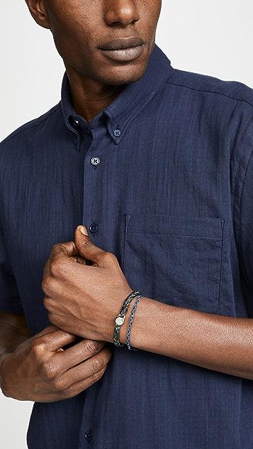 Scosha Fishtail Button Bracelet