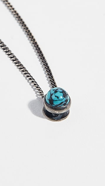 Scosha Lagoon Necklace with Turquoise Stone