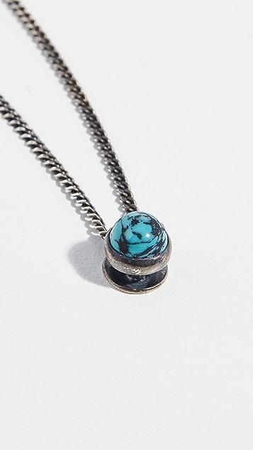 Scosha Lagoon Necklace with Turquoise Stone