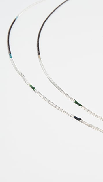 Scosha Patchwork Chain Necklace