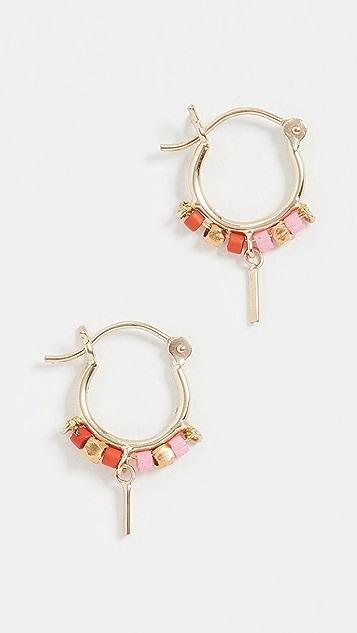 Scosha 10k Mini Trinket Hoop Earrings