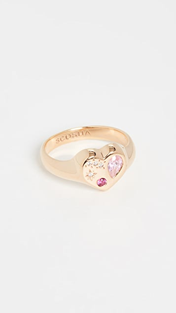 Scosha Night Market Heart Ring