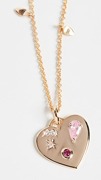 Scosha Night Market Heart Necklace