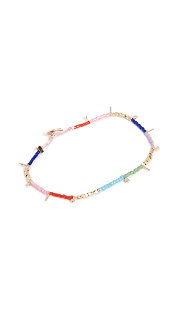 Scosha Fairy Tinsel Beaded Bracelet