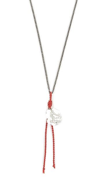 Scosha Coin & Tassel Necklace