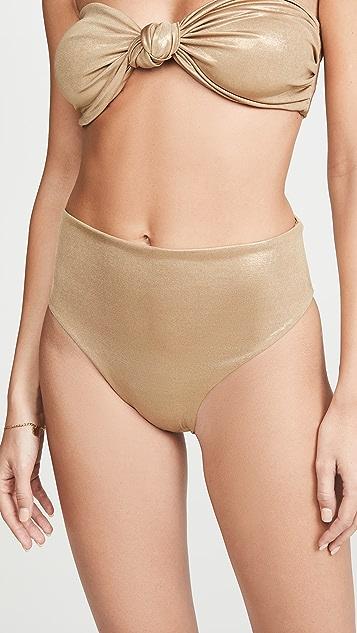 Sara Cristina Flirtatious High Waisted Bikini Bottoms