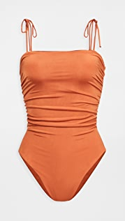 Sara Cristina Sand One Piece Swimsuit