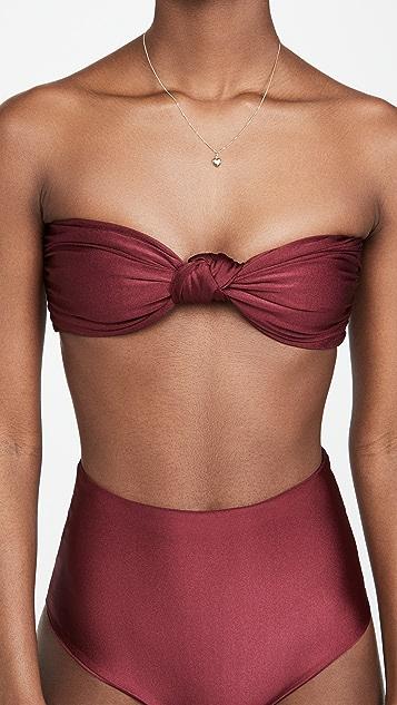 Sara Cristina Marina Bikini Top