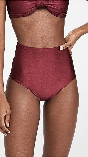 Sara Cristina Classic High Waist Bikini Bottoms