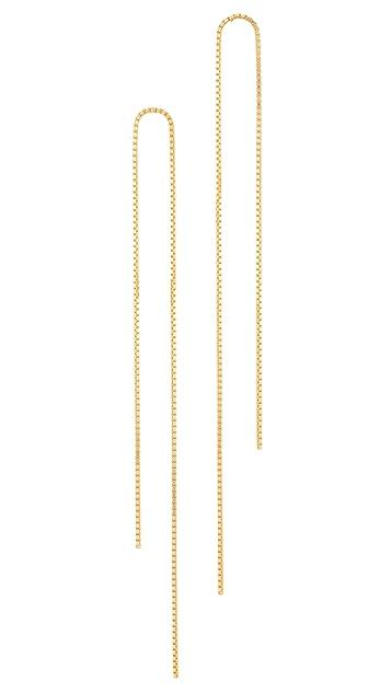 Saskia Diez Fringe Earrings