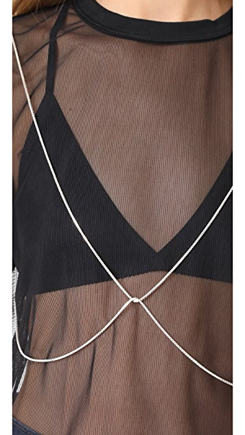 Saskia Diez Body Chain