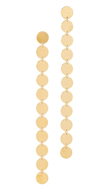 Saskia Diez Paillettes Earrings