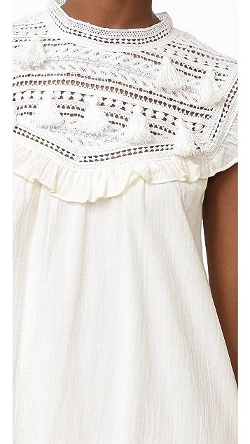Sea Tassel Combo Dress
