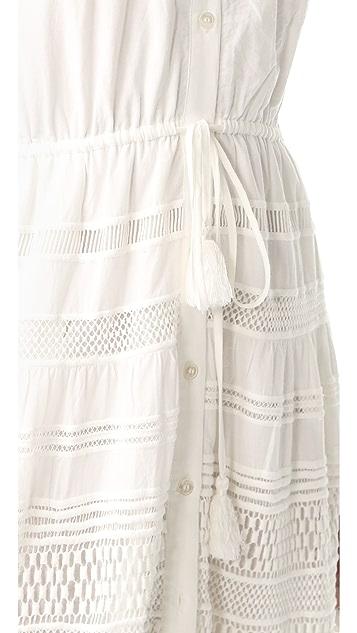 Sea Baja Lace Button Down Dress