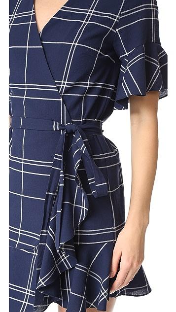 Sea Ruffle Dress