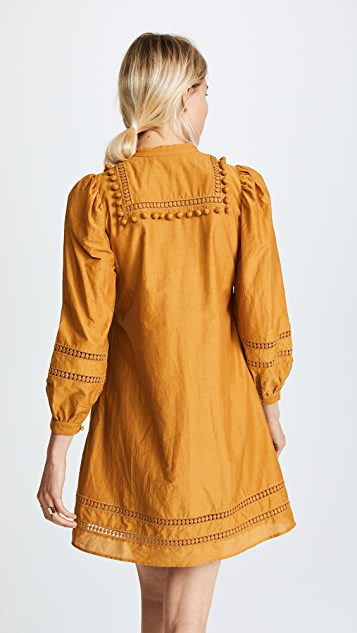 Sea Pom Pom Tunic Dress