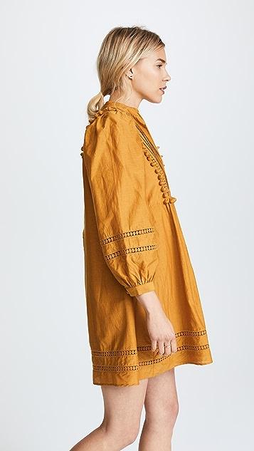Sea Pom Pom Tunic Dress