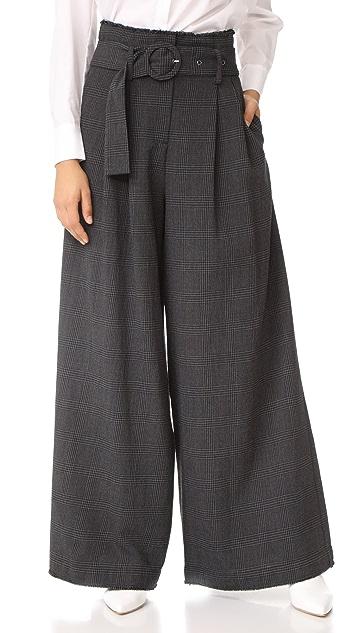 Sea High Waist Slouchy Pants