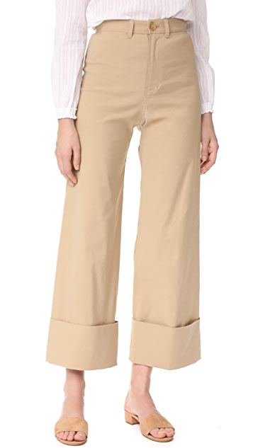 Sea Cuffed Pants