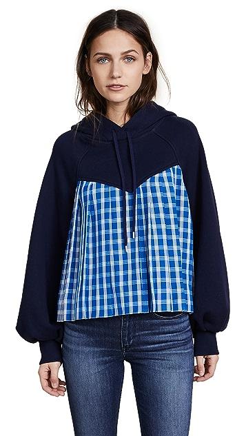 Sea Bell Sleeve Combo Sweatshirt