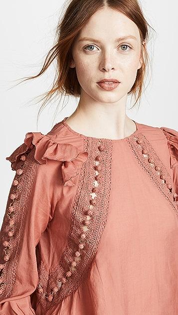 Sea Esther Crochet Blouse