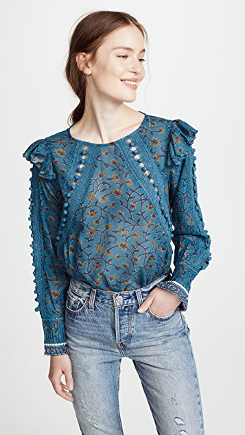 Sea Esther Printed Blouse