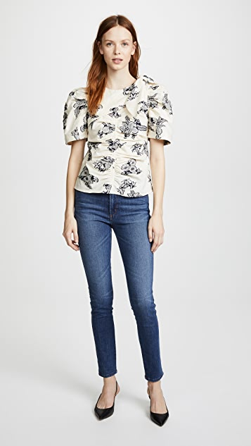 Sea Josephine Ruched Blouse